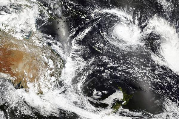 Cyklón Yasa.