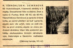 Těsnohlídkova kniha Dermänová.