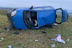 Po nehode pri Beniciach.