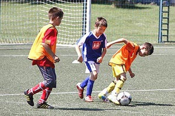 Ligu mladších žiakov hralo v prvej sezóne 10 celkov, teraz je prihlásených 14.