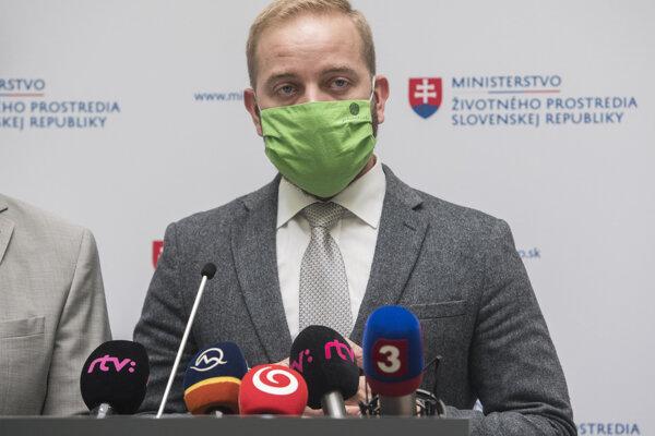 Generálny riaditeľ Slovenskej inšpekcie životného prostredia (SIŽP) Ján Jenčo.