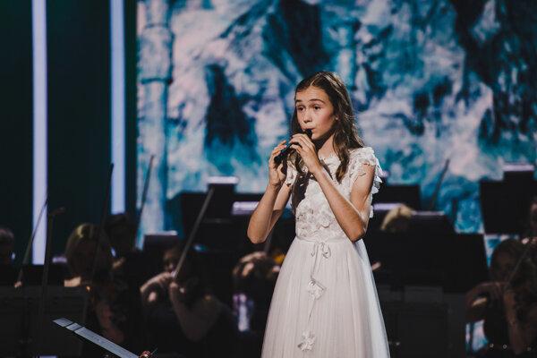Talentovaná flautistka Ajna Marosz.