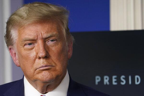 Prezident Trump.