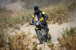 Štefan Svitko na Dakare 2021.