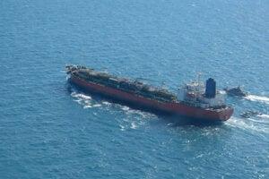 Iránom zadržaný ropný tanker plaviaci sa pod juhokórejskou vlajkou.