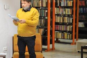 Na otvorení vynovenej mestskej knižnice v Námestove.