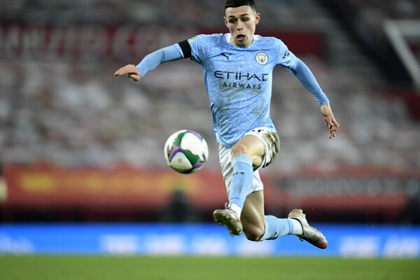Phil Foden z Manchester City.