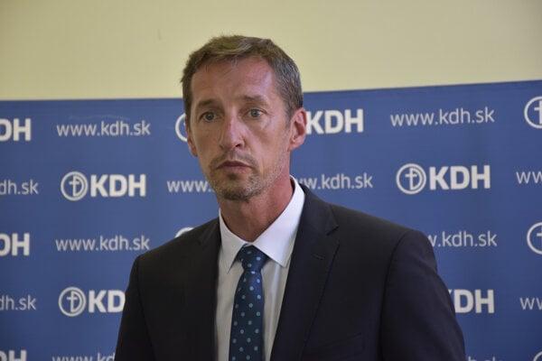 Predseda KDH Milan Majerský.