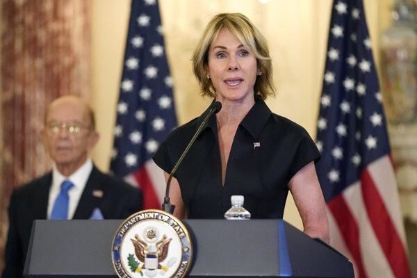Veľvyslankyňa USA pri OSN Kelly Craftová.