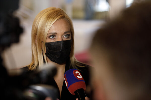 Poslankyňa NR SR Denisa Saková.