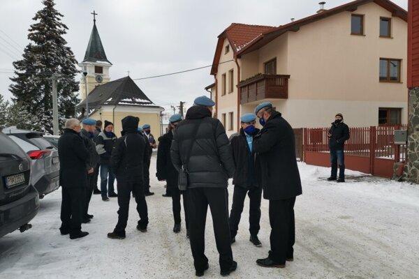 Pohreb Lučanského sa koná v úzkom rodinnom kruhu. Foto: Korzár/Mária Šimoňáková