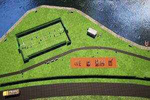 Realizačný projekt novej zóny v Malej Domaši.