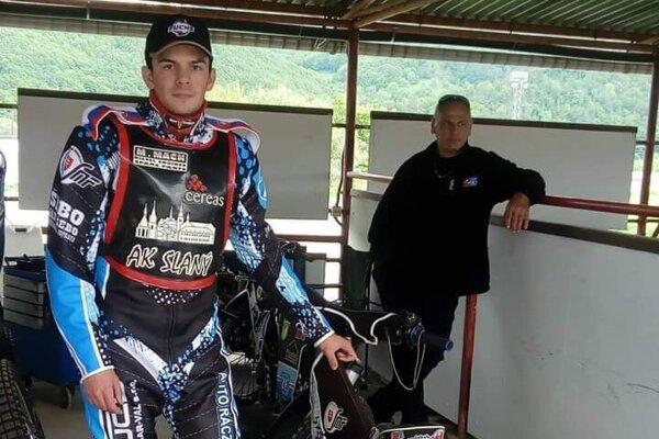 Jakub Valkovič sjednou zo svojich troch motoriek.