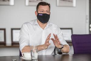 Daniel Lipšic v rozhovore pre denník SME.