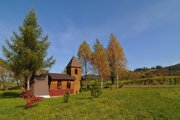 Kaplnka na mieste zaniknutej obce Ruskinovce v bývalom vojenskom obvode Javorina.