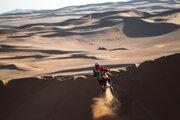 Pierre Cherpin na Rely Dakar 2021.