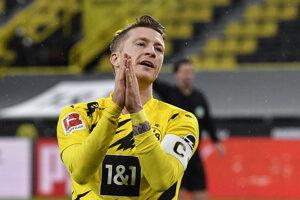 Kapitán Borussie Dortmund Marco Reus.