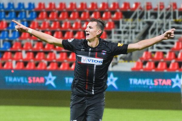 Filip Balaj má (zatiaľ) najlepšiu futbalovú formu v živote. Bude súčasťou FC ViOn aj v prvom jarnom kole proti Trnave (6. 2.)?