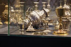Pôvodne mala byť klenotnica plná vzácnych sakrálnych predmetov. Neskôr zbierku rozšírili o archeologické nálezy.