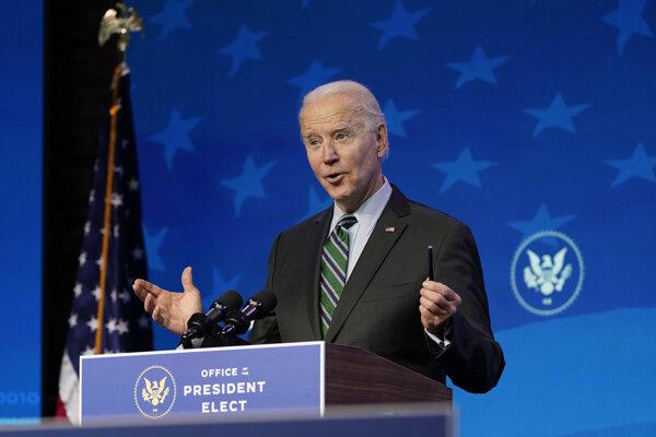 Nastupujúci americký prezident Joe Biden.