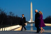 Joe Biden sa vrátil do Washingtonu, tentokrát ako prezident.