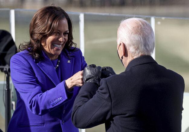 Kamala Harrisová a Joe Biden.