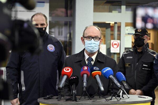 Infektológ profesor Pavol Jarčuška.