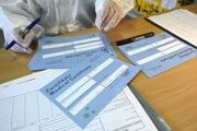Celoplošný skríning pokračoval nedeľným testovaním aj v odberovom mieste zriadenom v priestoroch Strednej odbornej školy obchodu a služieb v Trenčíne.