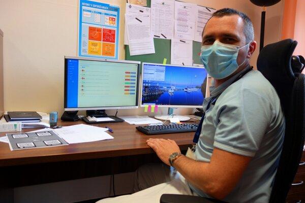 Ivan Kocan, primár pľúcnej kliniky Univerzitnej nemocnice v Martine.