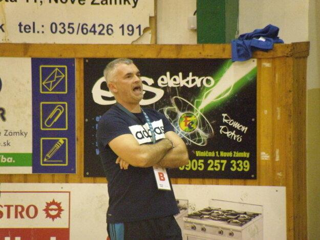 Tréner MHC Štart Nové Zámky Peter Sporni