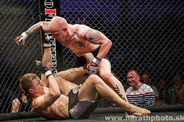 Priaznivci bojových športov videli 15 zápasov v štýle MMA.