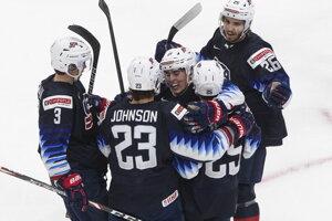 USA vs. Fínsko, semifinále MS v hokeji do 20 rokov 2021 LIVE dnes.