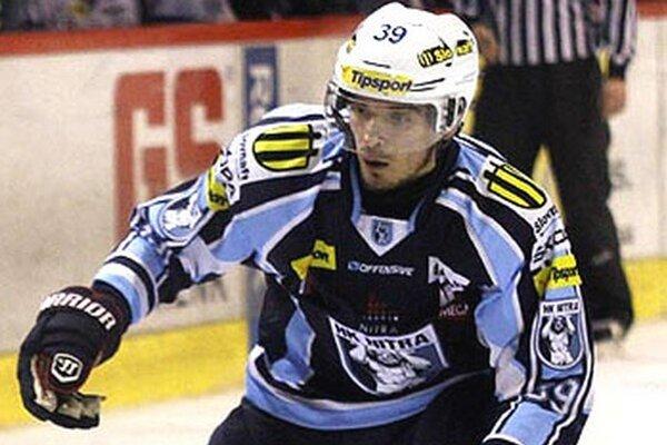 Edo Piačka strelil vo štvrtom zápase série vedúci gól Nitry, ktorý sa nakoniec ukázal byť víťazným.