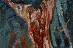 Soutine sa nechal inšpirovať námetom visiaceho vola u Rembrandta, obraz namaľoval v 20-tych rokoch minulého storočia.