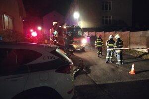 Miesto zabezpečovali policajti, hasiči aj zdravotní záchranári.