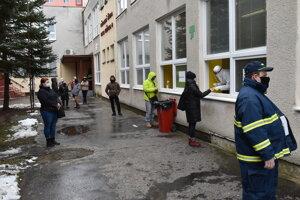 Odberné miesto na ZŠ Mirka Nešpora v Prešove.