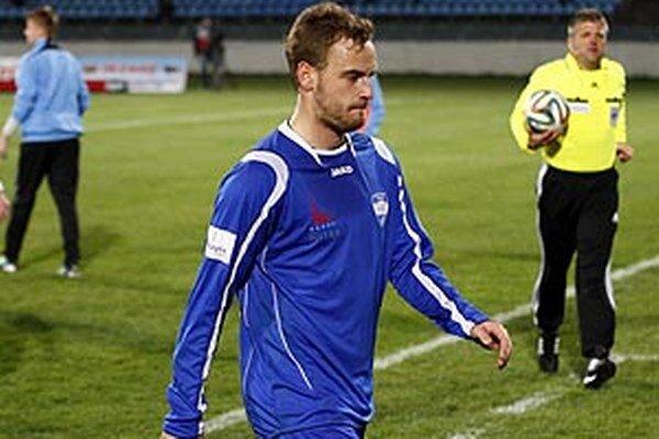 Jediný gól Nitry strelil Matúš Mikuš.