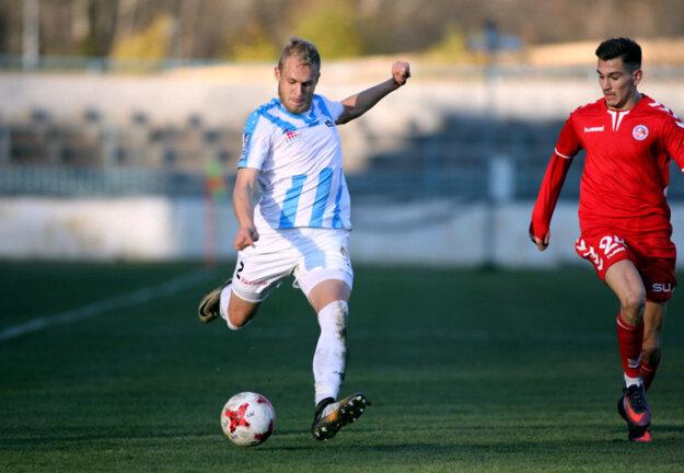 Lukáš Fabiš (vľavo) za áčko FC Nitra odohral 55 zápasov.