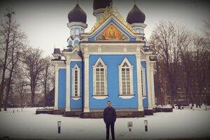 Zo študijného pobytu v Litve.