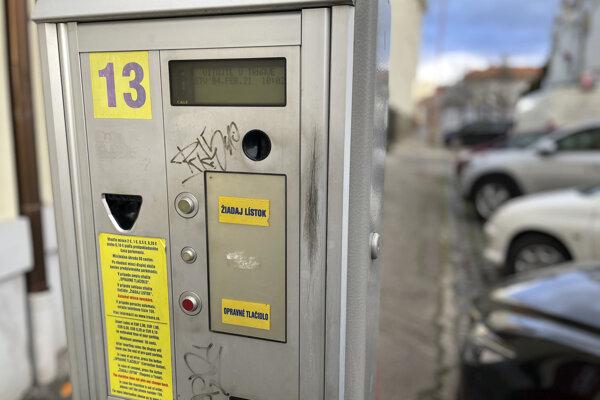Automat v Trnave.