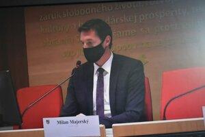 Rokovanie viedol župan Milan Majerský (KDH).