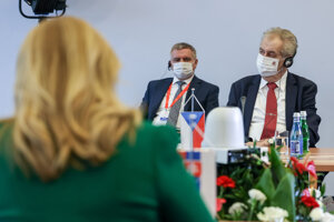 Prezidentka Zuzana Čaputová sa nedávno stretla s Milošom Zemanom a ostatnými prezidentmi Vyšehradskej štvorky v Poľsku.