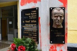 Pamätník najprv poškodili aktivisti, teraz jeho umiestnenie vyšetruje NAKA.