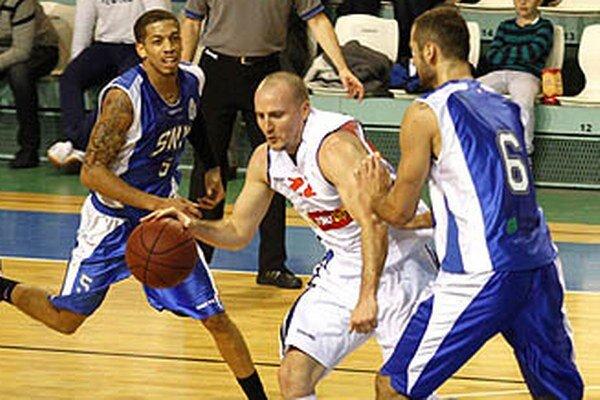 Patrick Sparks je oporou tímu Nitry už druhú sezónu.