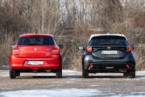 Suzuki Swift vs. Toyota Yaris