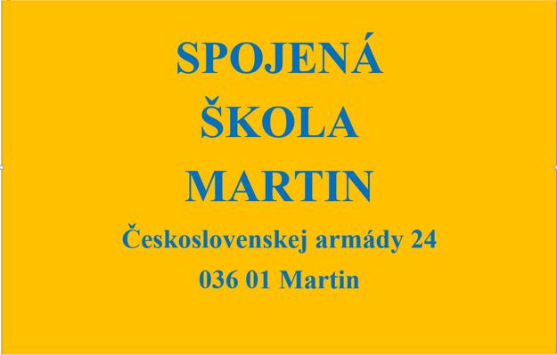 Spojená škola v Martine je dobrou a perspektívnou voľbou.
