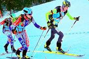 Michal Tuka (vpravo) predviedol skvelý výkon na majstrovstvách Slovenska.