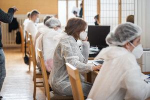 Očkovanie v Trnave.