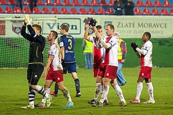 Napriek prehre so Slovanom v Zlatých Moravciach v sobotu znel potlesk.