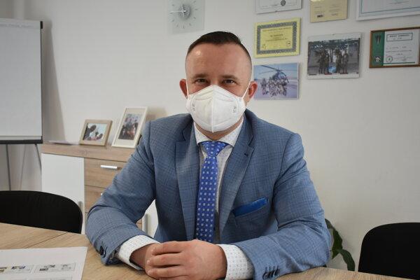 Riaditeľ Fakultnej nemocnice Trenčín Tomáš Janík.